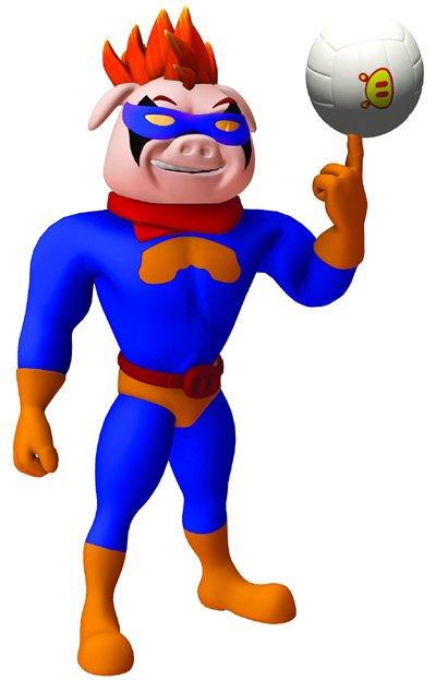 猪猪侠 超人强简笔画_猪猪侠 超人强简笔画