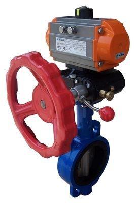 执行机构是调节阀的推力部件,它按控制信号压力的大小产生相应的推力图片