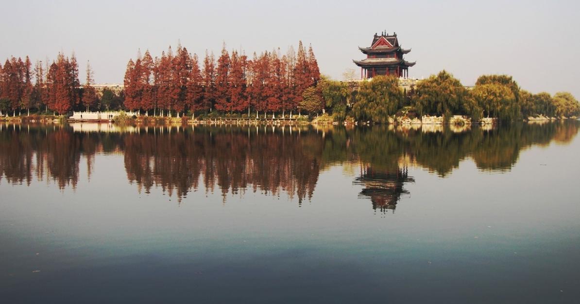 襄阳九州岛风景