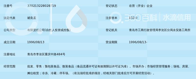 青岛华中蔬菜批发市场有限公司