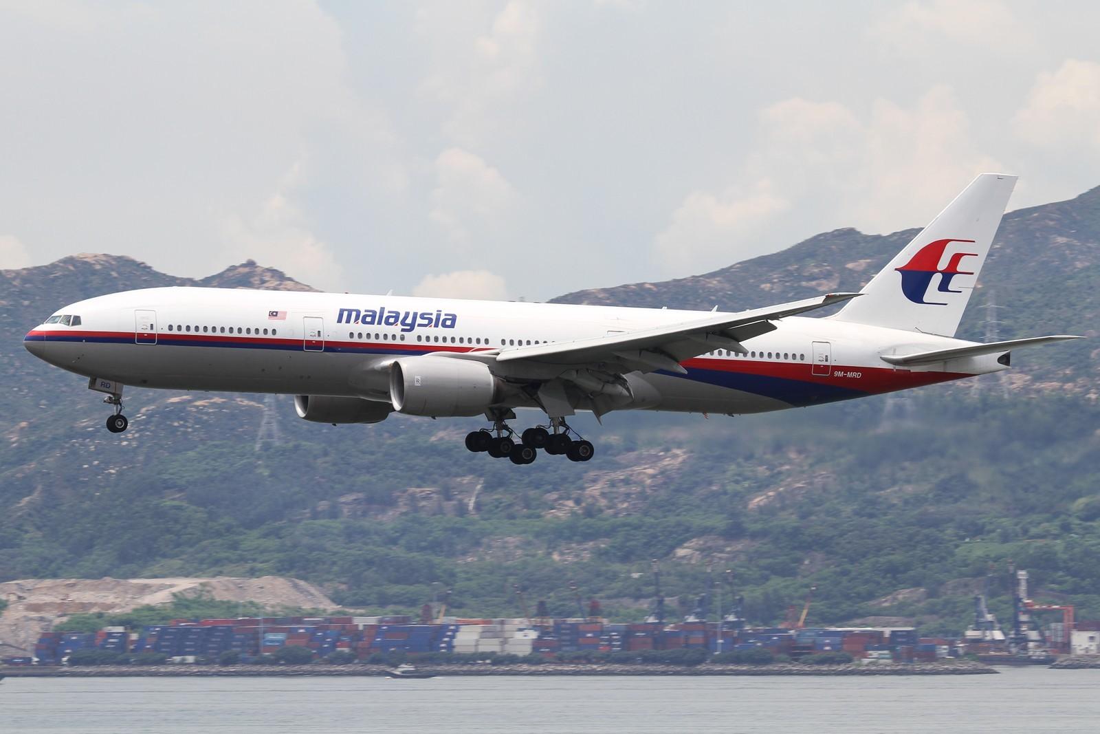 执行2014年7月17日马航mh17航班9阿姆斯特丹-吉隆坡)的飞机注册号为:9