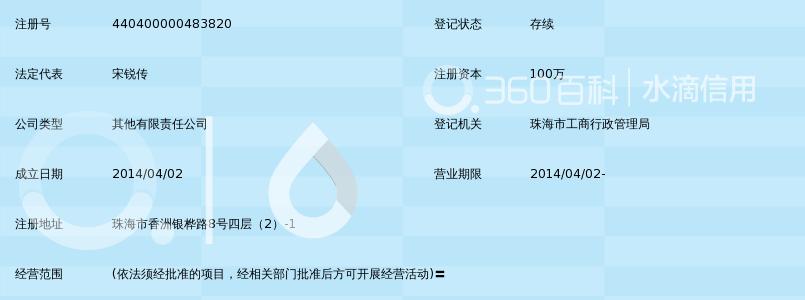 珠海星火教育科技有限公司_360百科