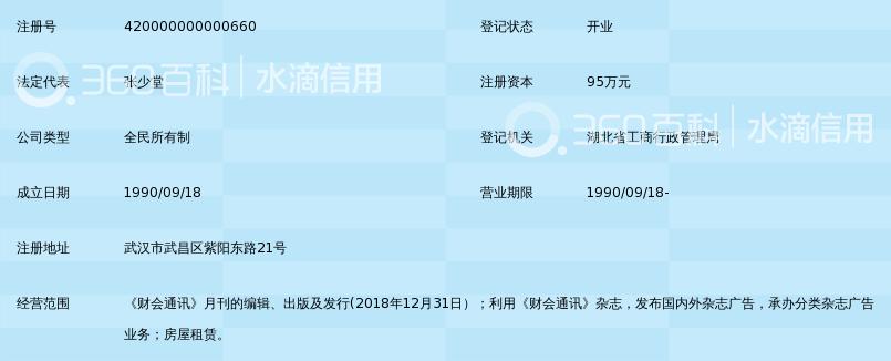 财会通讯杂志社_360百科