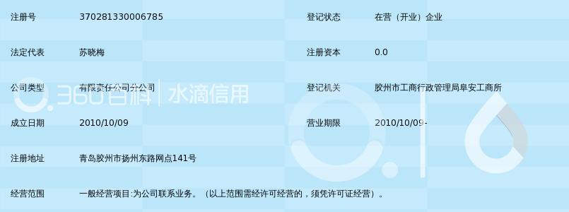 山东招商国际旅行社有限公司胶州营业部_360