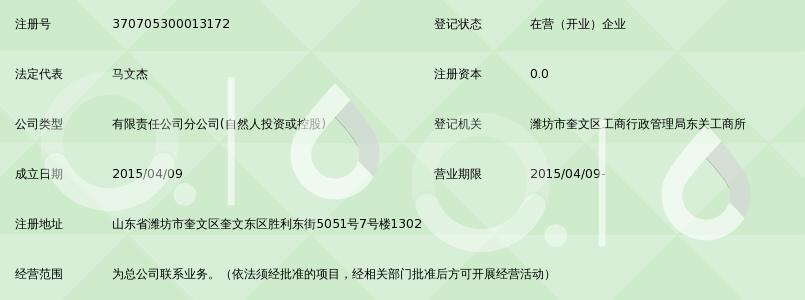 深圳前海达飞金融服务有限公司潍坊分公司_3